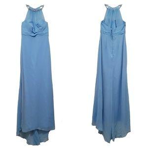 Alfred Angelo Halter Formal Bridesmaid Dress